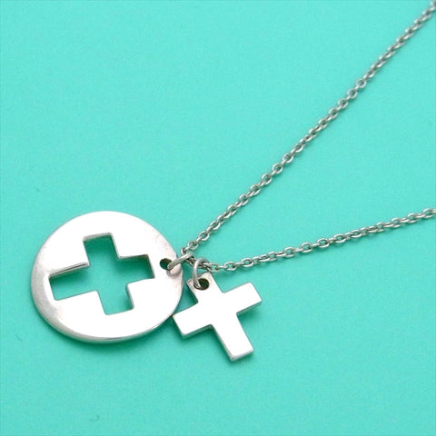 Pre-owned Tiffany & Co necklace cross