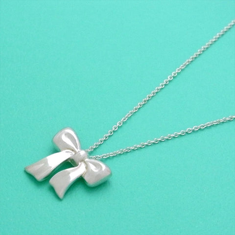 Pre-owned Tiffany & Co necklace ribbon
