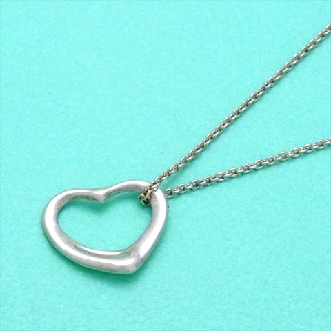 Pre-owned Tiffany & Co necklace Elsa Peretti open heart