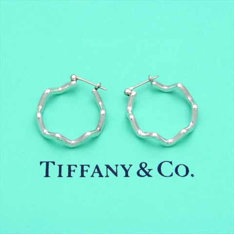 Pre-owned Tiffany & Co stud earrings Paloma Picasso hoop