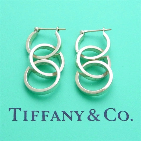 Pre-owned Tiffany & Co stud earrings Paloma Picasso hoop dangle