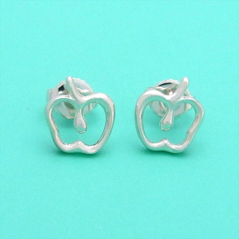 Pre-owned Tiffany & Co stud earrings Elsa Peretti apple