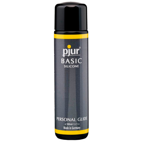 Pjur Basic Silicone - Silicone Lubricant - 100 ml Bottle