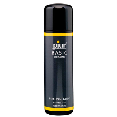 Pjur Basic Silicone - Silicone Lubricant - 250 ml Bottle