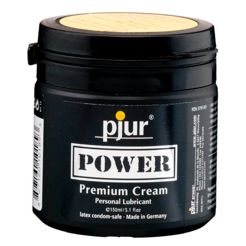Pjur Power - Silicone Cream Lubricant - 150 ml Tub
