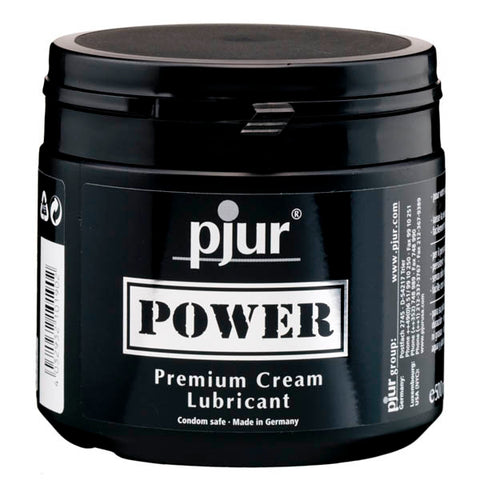 Pjur Power - Silicone Cream Lubricant - 500 ml Tub