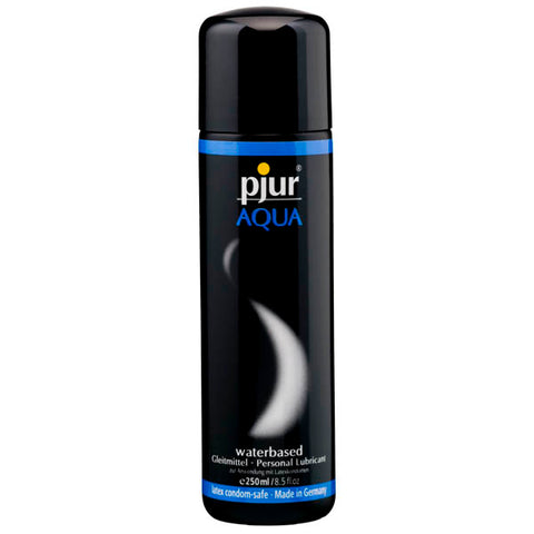 Pjur Aqua - Water Based Lubricant - 250 ml Bottle