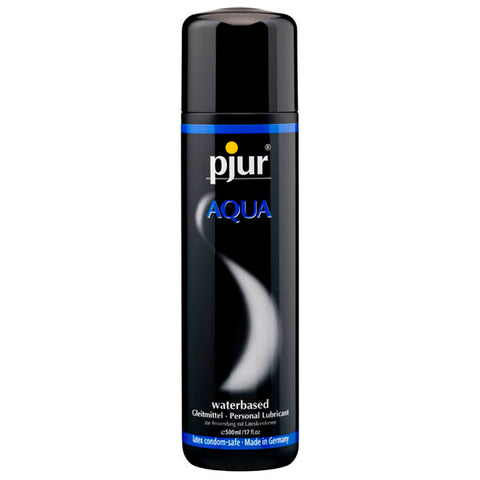 Pjur Aqua - Water Based Lubricant - 500 ml Bottle