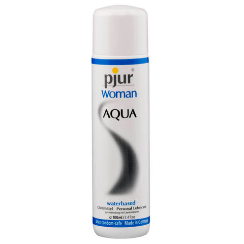 Pjur Woman Aqua - Water Based Lubricant - 100 ml Bottle