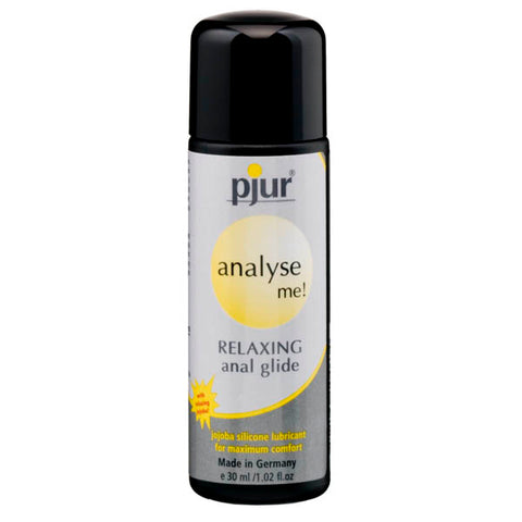 Pjur Analyse Me! Relaxing Anal Glide - Relaxing Anal Lubricant - 30 ml Bottle