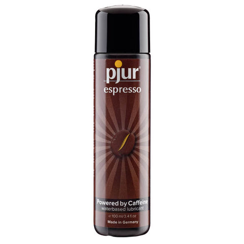 Pjur Espresso - Water Based Lubricant with Caffeine - 100 ml Bottle