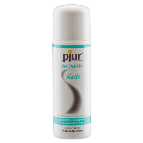 Pjur Woman Nude - Water Based Glycerine Free Lubricant - 30 ml Bottle