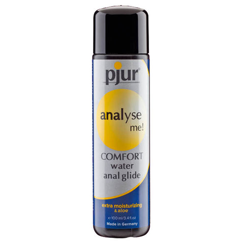 Pjur Analyse Me! Comfort Glide - Water Based Anal Lubricant with Aloe - 100 ml Bottle