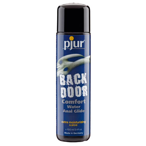 Pjur Back Door Comfort Glide - Water Based Anal Lubricant with Aloe - 100 ml Bottle