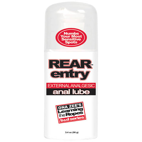 Ona Zee's Rear Entry - Desensitising Anal Lubricant - 96 g Bottle