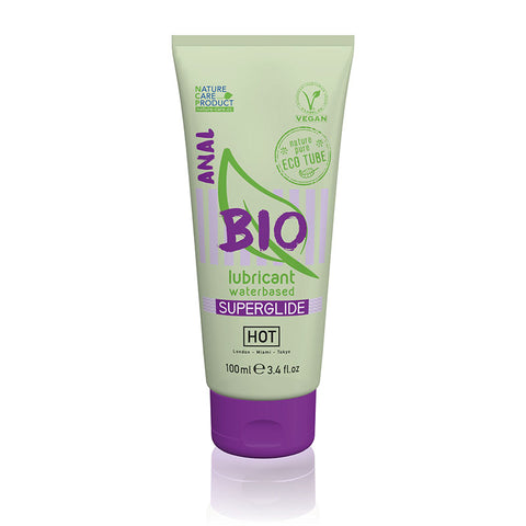 HOT BIO Anal Superglide - Water Based Anal Lubricant - 100 ml