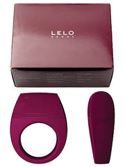 Lelo Cock Ring Bo Pleasure Object - Maroon -