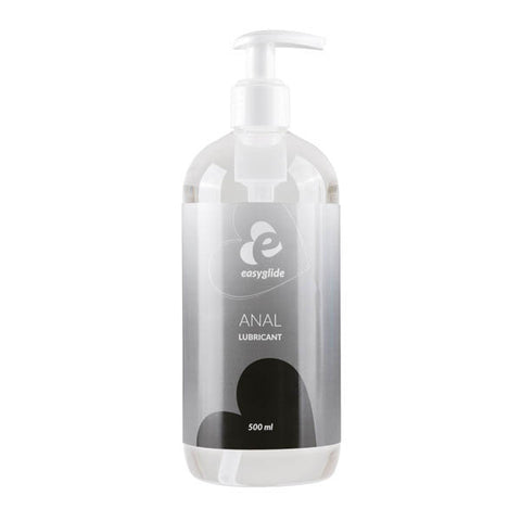EasyGlide Anal Lube - Water Based Anal Lubricant - 500 ml Pump Bottle