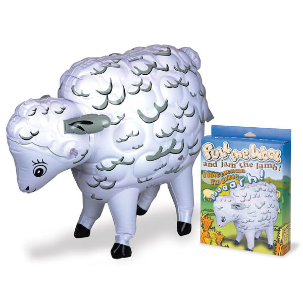 Pull The Wool - Inflatable Sheep Doll