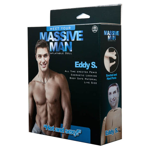 Massive Man - Eddy S - Male Inflatable Love Doll
