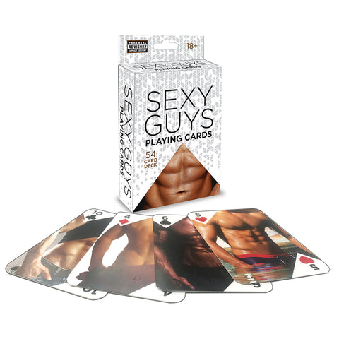 Sexy Guys Playing Cards - Novelty Playing Cards