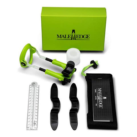 MaleEdge Extra Kit - Penis Enlarger Kit in Green Case