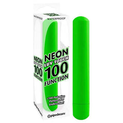 Neon Luv Touch 100 Function Vibe - Green 18 cm (7'') Vibrator