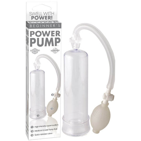 Beginner's Power Pump - Clear Penis Pump