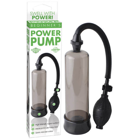Beginner's Power Pump - Smoke Penis Pump