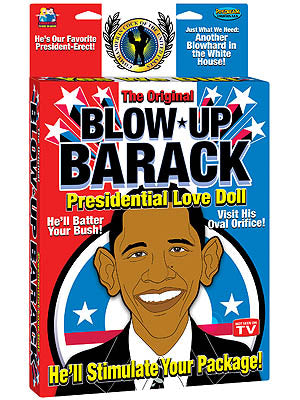 Blow Up Barack - Presidential Inflatable Love Doll