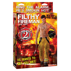 Filthy Fireman - Inflatable Male Love Doll