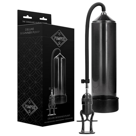 Pumped Deluxe Beginner Pump - Black Penis Pump