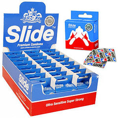 Slide Patriot - Patriot Condoms - Counter Display of 24 x 6 Packs