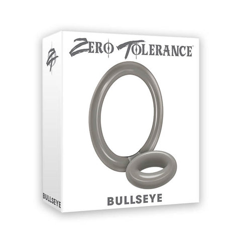 Zero Tolerance Bullseye - Grey Cock & Ball Rings