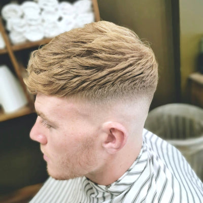 Skin Fade with a Textured Top