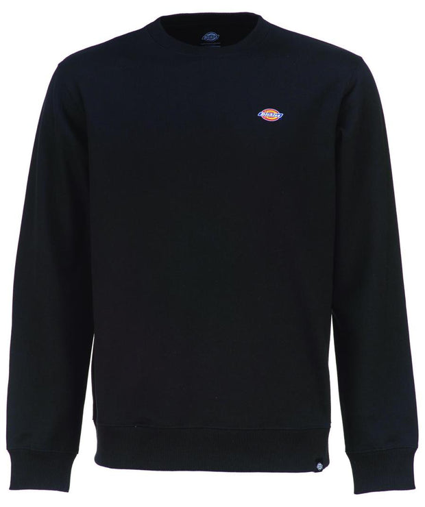 Black plain Dickies sweatshirt in our shop in Galway Ireland.
