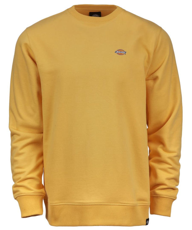 The very popular mustard colour Dickies sweatshirt available in all sizes here in Galway