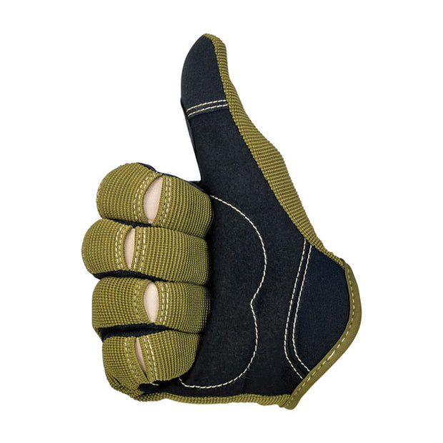 Biltwell Moto gloves olive/black/tan