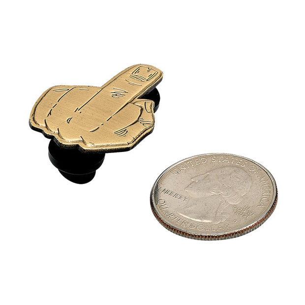 Biltwell enamel pin Finger antique weathered