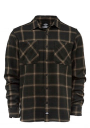 The classic dark green check shirt with brown stripes from Dickies.