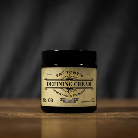 Hair wax but not as you know it. The defining hair cream will give you the texture you've been looking for.