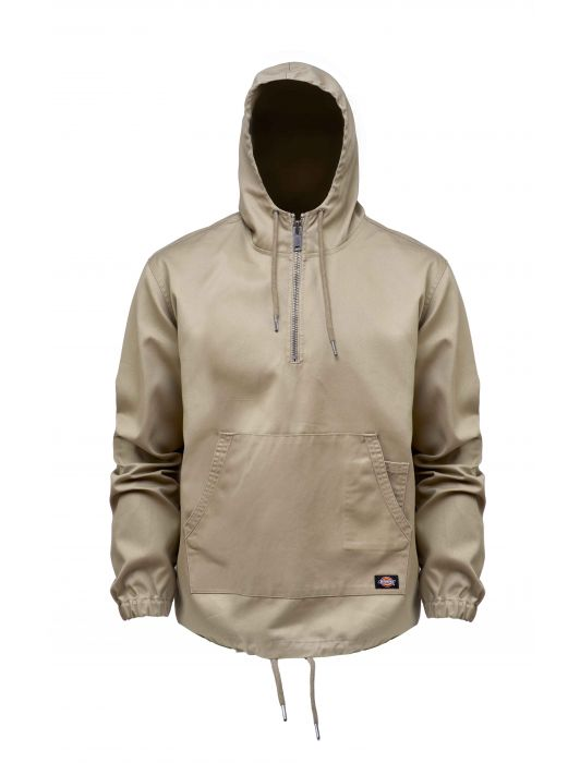 sandy colour Kaki mens hoodie from Dickies.