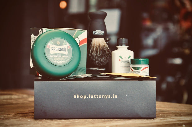 Our Valentines day gift set. The best shave set money can buy.