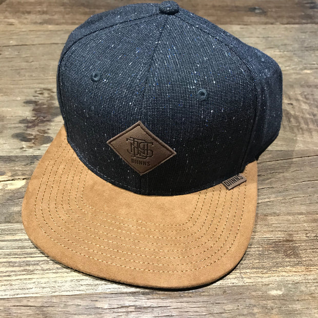 Djinns Baseball Cap / Slate Spec & Brown