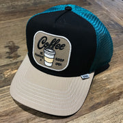 Djinns Baseball Cap / Coffee Addict