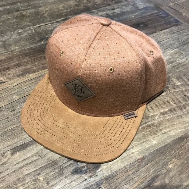 Djinns Baseball Cap / Brown Spec