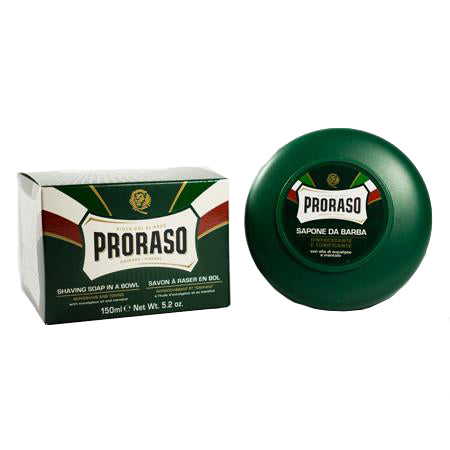 Proraso Shaving Soap (Green) Eucalyptus Oil & Menthol