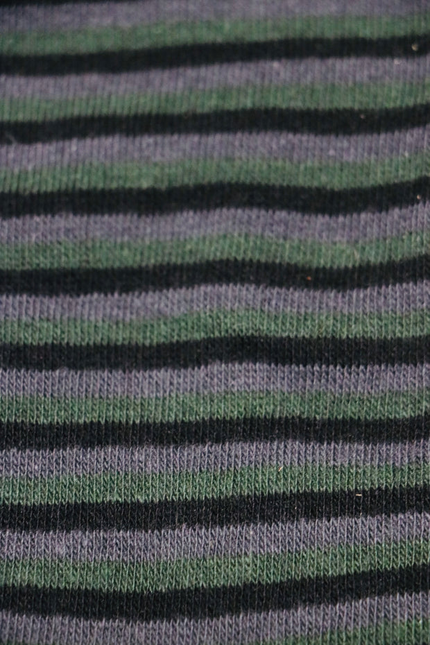 SOILID Socks Green Stripes