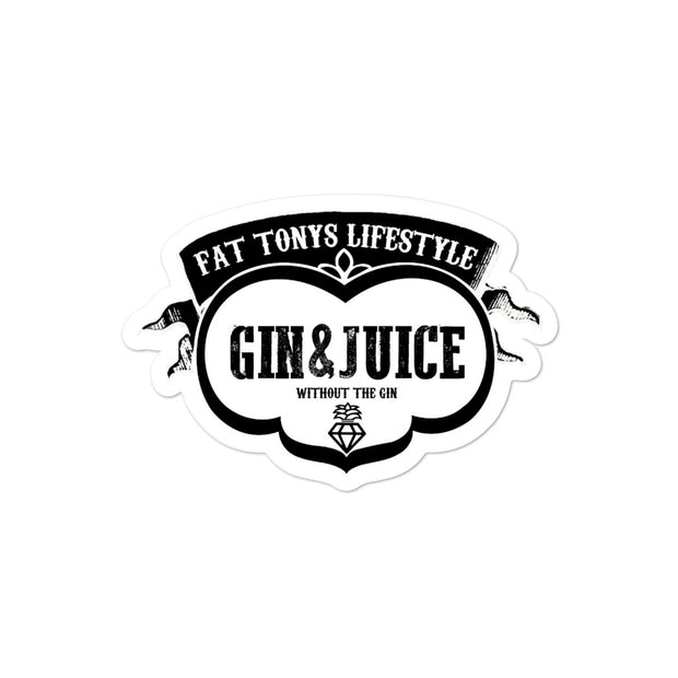 Gin & Juice Stickers