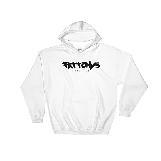 FT™ MIDDLE FINGERS ALOFT Hoodie WHITE